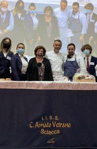 Show Cooking con lo chef Perbellini all'Amato Vetrano!
